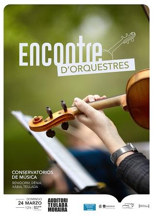 Conservatoris de música de la Marina Alta i Baixa es donen cita aquest cap de setmana en el Auditori Teulada Moraira