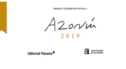 Diez novelas finalistas con temática diversa optan a los 45.000 euros del 'Premio Azorín de Novela' de la Diputación de Alicante y Editorial Planeta