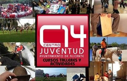 La Regidoria de Joventut d'Alacant presenta la programació de cursos i tallers del Centre 14 per a abril, maig i juny