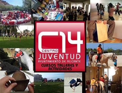 La Concejalía de Juventud de Alicante presenta la programación de cursos y talleres del Centro 14 para abril, mayo y junio