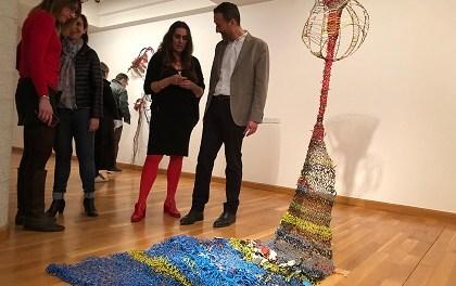 Abierta en el MACE la exposición 'El mal en mí', de la artista ilicitana Susana Guerrero