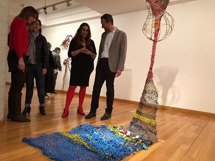 Oberta en el MACE l'exposició 'El mal en mi', de l'artista il·licitana Susana Guerrero