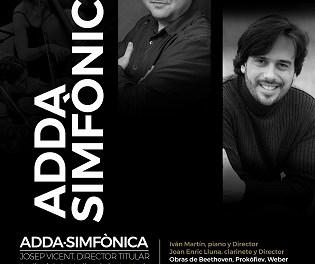 Concert de l'orquestra ADDA Simfònica demà dissabte en el Auditori de la Mediterrània de La Nucia