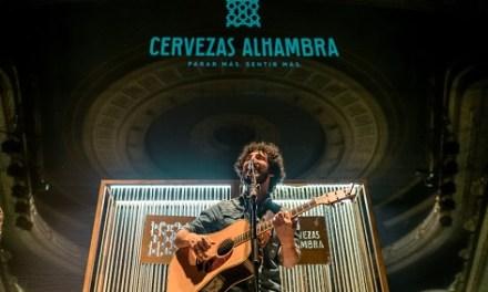 """""""Momentos Alhambra en el Escenario"""" de Cerveses Alhambra va tornar el passat dimecres amb un exclusiu acústic de Marwan"""