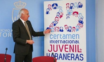 400 Coralistas participarán en el 25º Certamen Juvenil de Habaneras del 6 de abril