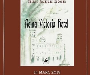 """Rafael Andarias presenta este jueves en Xàbia su primera novela """"Reina Victoria Hotel"""""""