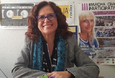 Maria Dolores Padilla confía en más contenedores para artistas  donde no exista el arte sin público