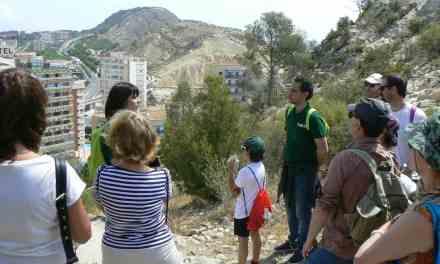 El Ayuntamiento de Alicante presenta el programa de Senderos de Primavera con nuevos recorridos para ver la puesta del sol y el anochecer en la bahía de Alicante