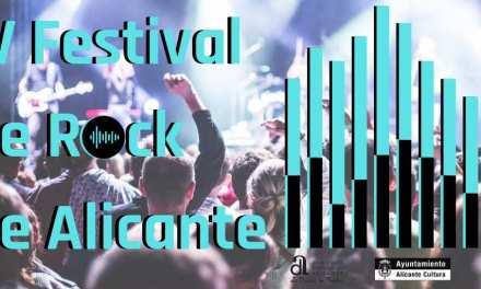 Abierto el plazo de presentación de proyectos para laorganización del IV Festival de Rock de Alicante
