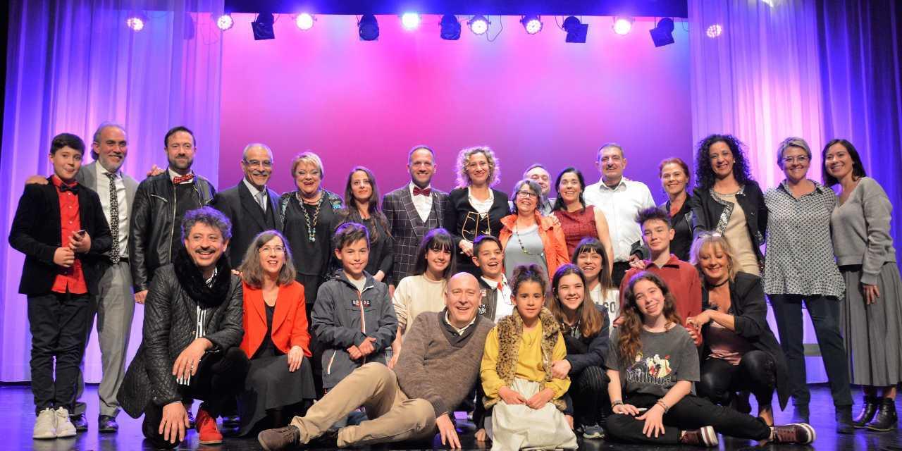 Els premis TAULES de teatre amateur, uneixen festa i reconeixements en El Pinós