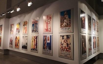 """""""75 anys de cartells de la Setmana Santa a Alacant"""" i l'exposició """"Soledad de Santa María (1819-2019)"""""""