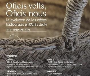 La VIII Semana Cultural l'Alfàs amb Història analizará la evolución de los oficios tradicionales