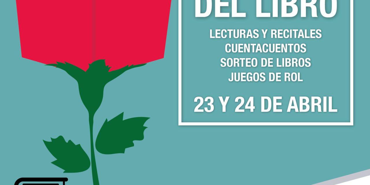 L'Aljub celebra el dia del llibre amb lectures dramatitzades, recitals de poesia i roses