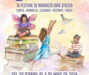"""Altea acoge el 16º Festival de Narración Oral """"Encontes"""""""