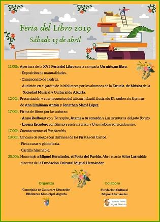 Este sábado se celebrará un homenaje a Miguel Hernández en la Biblioteca Municipal de Algorfa