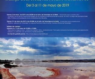 """La III Edició de les Jornades """"Llacunes de Torrevella i la Mata: paisatge cultural, història i patrimoni"""" se celebraran del 3 al 11de maig"""