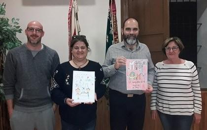 La Junta Festera concede los premios de XXXº Concurso de Dibujo Infantil del Mig Any de Festes entre más de 350 participantes.