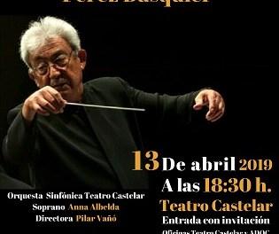 El músic eldense Gerardo Pérez Busquier rebrà un homenatge al Teatre Castelar