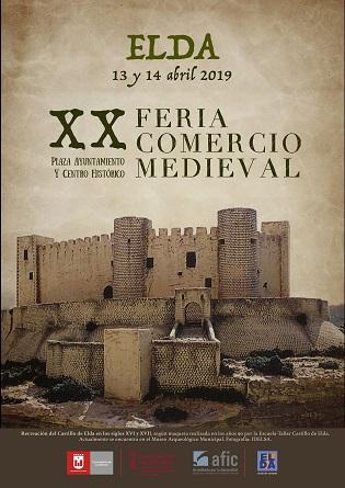 El Mercado Medieval regresa a Elda los días 13 y 14 de abril