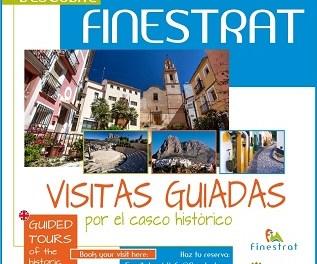 Turisme amplia les visites guiades pel centre històric de Finestrat durant les vacances de Setmana Santa