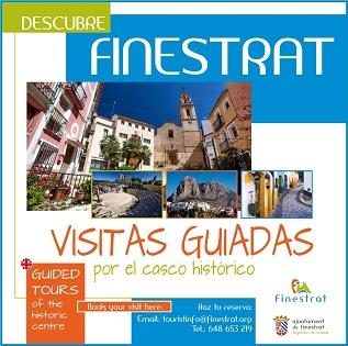 Turismo amplía las visitas guiadas por el casco histórico de Finestrat durante las vacaciones de Semana Santa