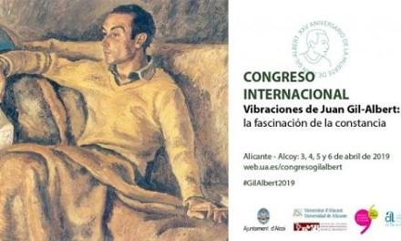 Luis Antonio de Villena abrió el congreso internacional sobre Juan Gil-Albert que reunirá en Alicante y Alcoy a destacados ponentes