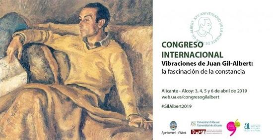 Luis Antonio de Villena va obrir el congrés internacional sobre Juan Gil-Albert que reunirà a Alacant i Alcoi a destacats ponents