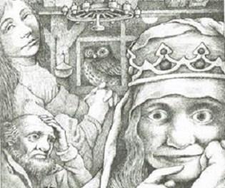 El enebro y otros cuentos de Grimm (1973) dibuixats per Maurice Sendak