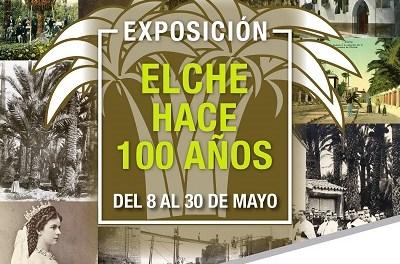 L'exposició 'Elx fa 100 anys' s'instal·la al centre comercial l'Aljub