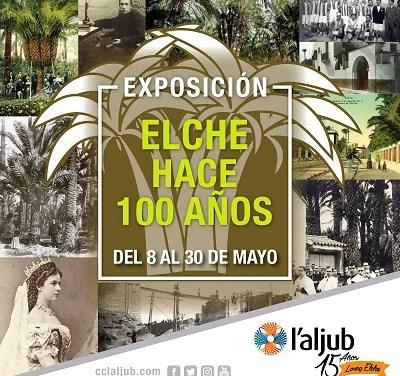 La exposición 'Elche hace 100 años' se instala en el centro comercial l'Aljub