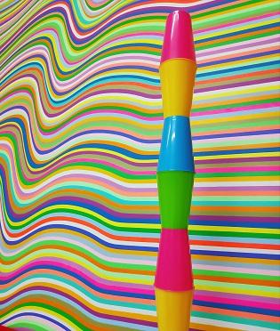 La abstracción geométrica de Cristina Ghetti llega a Espai Salmaia de Altea
