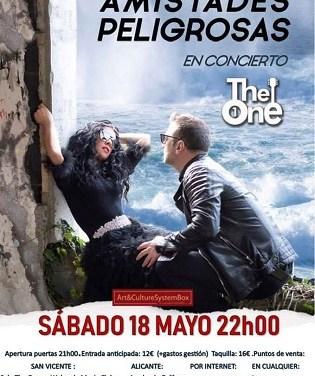 Amistades Peligrosas presenta en Alicante su disco Pacto de Sal