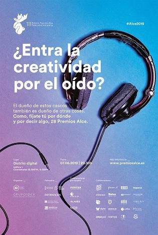 Els Premis ALCE 2019 conviden a reflexionar sobre el paper de la música en el procés creatiu