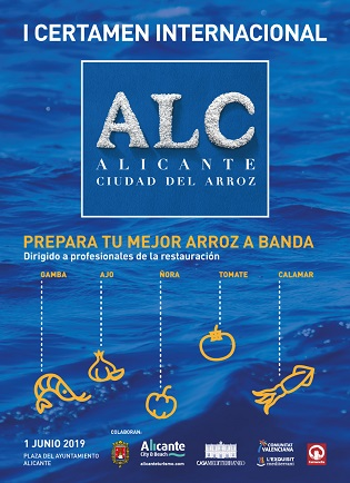 Seleccionado el Jurado y los 10 chefs que cocinarán en el I Certamen Internacional Alicante Ciudad del Arroz