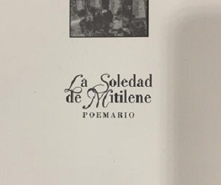 """La Llibreria CÓDEX d'Oriola acull aquest divendres la presentació del poermari """"La Soledad de Mitilene"""" de Josep Giménez Rodríguez"""