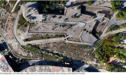 L'Ajuntament d'Alacant impulsa la recuperació arquitectònica i la millora de l'accessibilitat del Castell Sant Ferran amb una inversió d'1.1 milió d'euros