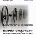 La Diputación de Alicante organiza un original concurso fotográfico sobre 'Los archivos y sus documentos'