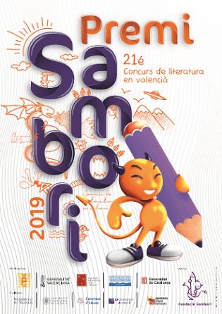 Entrega de los Premios Literarios Sambori 2019 de la comarca de l'Alacantí