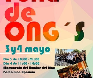 Torrevieja acoge la tradicional Feria de ONG's los días 3 y 4 de mayo