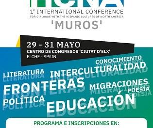 La Universitat Miguel Hernández d'Elx organitza l'I Congrés Internacional per al diàleg amb les cultures hispanes de nord Amèrica