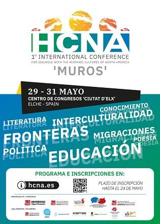 La Universidad Miguel Hernández de Elche organiza el I Congreso Internacional para el diálogo con las culturas hispanas de norte América