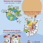 La Biblioteca Tirisiti ofrecerá actividades las mañanas de julio