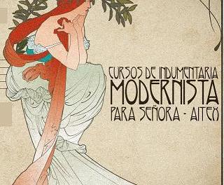 AITEX organiza cursos de indumentaria modernista en Alcoy