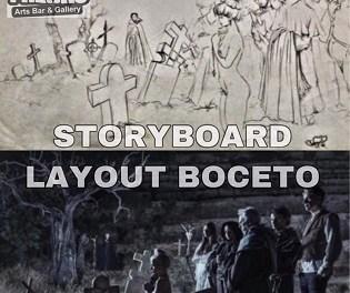 Taller Storyboard/LayoutProjectamb l'artistaJuanjoHernández enFreaksArts