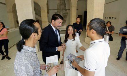 Alacant rep a una delegació de l'Institut Tecnològic d'Art i Cultura de la ciutat xinesa deSuzhou