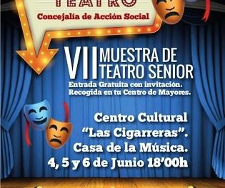 """La Regidoria d'Acció Social d'Alacant organitza la VII Mostra de Teatre Sènior en """"Las Cigarreras"""" del 4 al 6 de juny"""