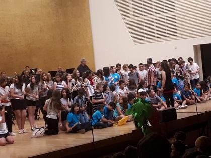 La Banda Simfònica d'Alacant finalitza el cicle de concerts escolars davant un miler de participants