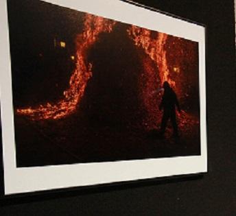 La Diputació d'Alacant exposa les 20 imatges finalistes de l'III Concurs Nacional de Fotografia de Bombers
