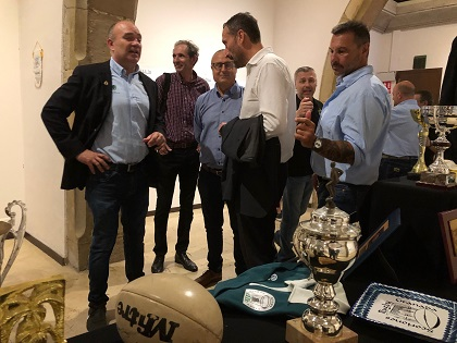La Lonja Medieval acoge la exposición del quincuagésimo aniversario del Elche Club Rugby Unión