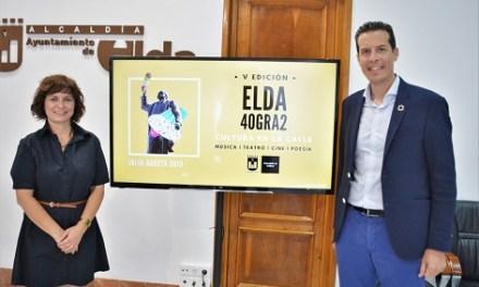 La actividad cultural vuelve a las calles de Elda con la V Edición de Elda 40gra2